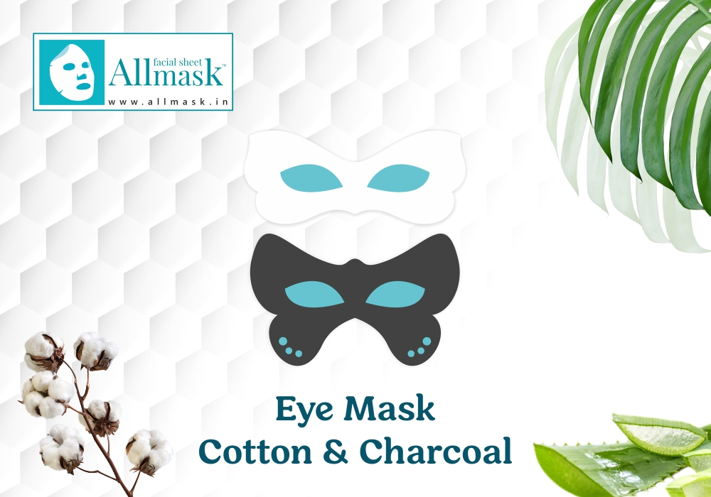 Eye Mask Cotton & Charcoal