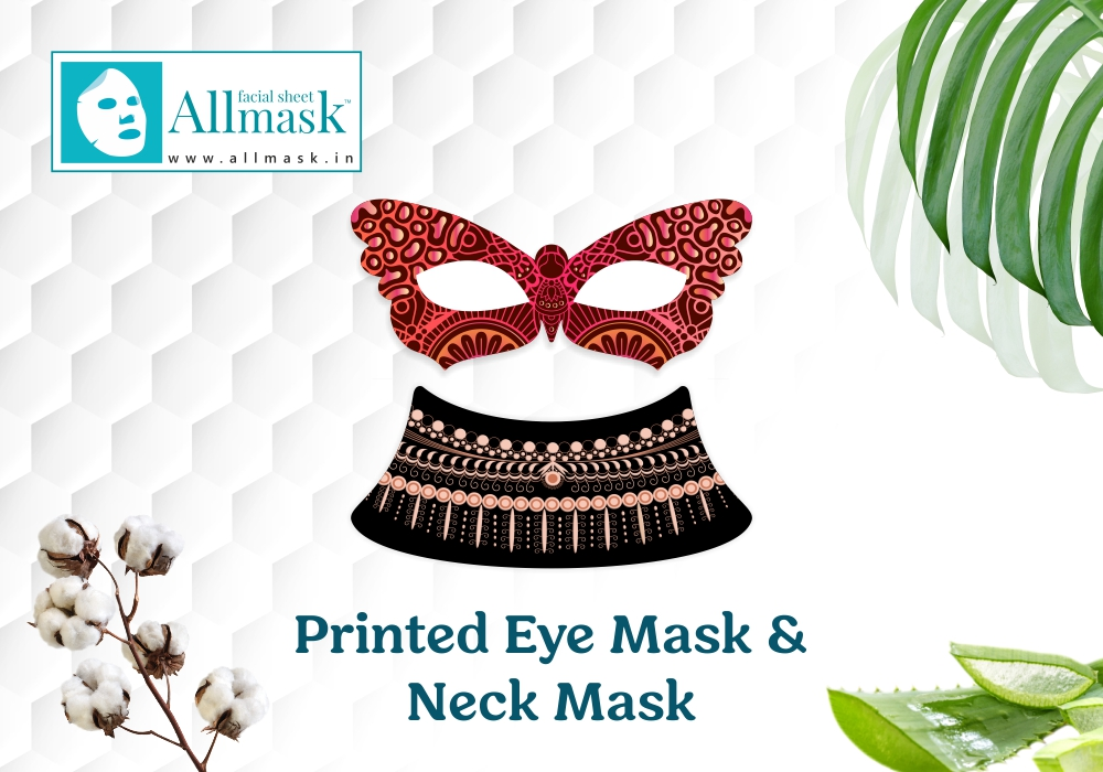 Printed Eye Mask & Neck Masks